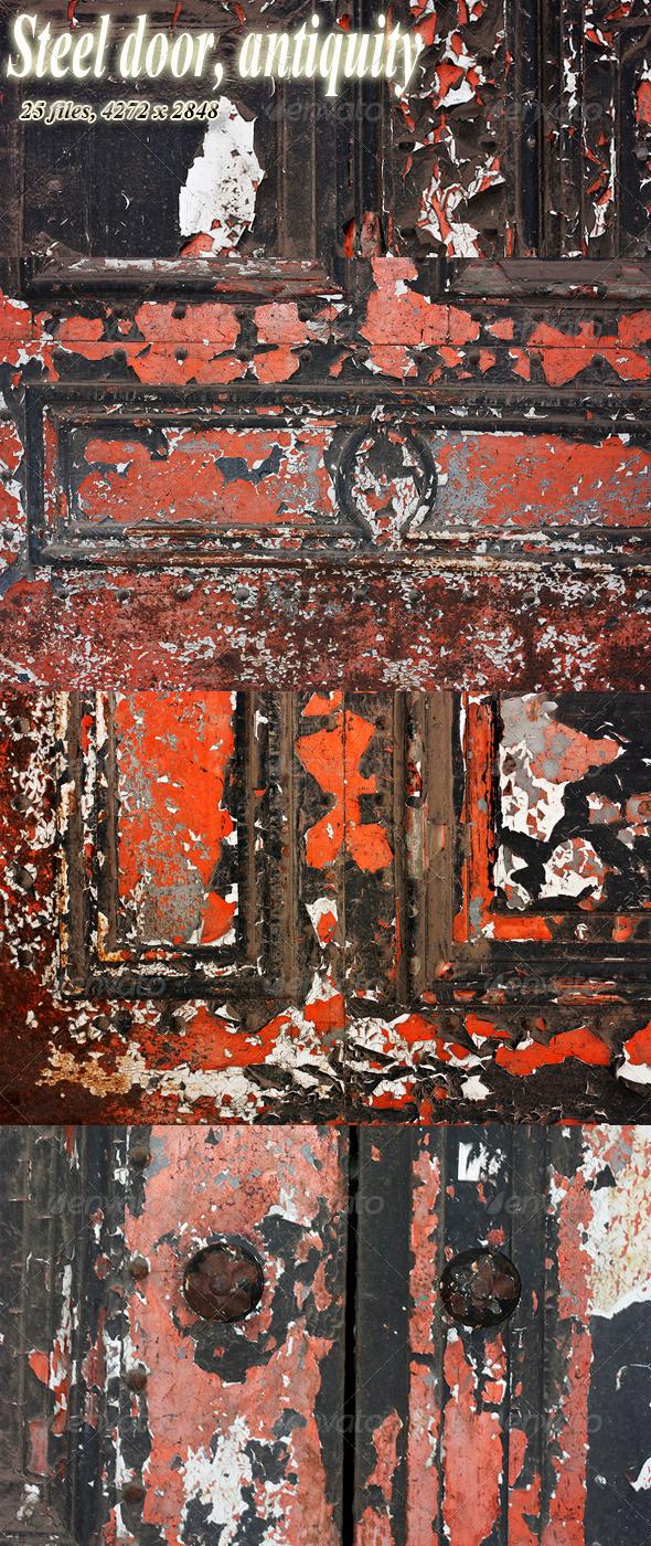 GraphicRiver Iron Decorative Door Antiquity 3565411