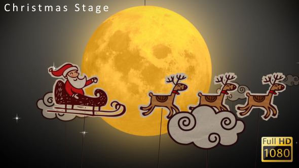 VideoHive Christmas Stage 3565495