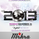 NYE 2013 Skyline Flyer Template - GraphicRiver Item for Sale