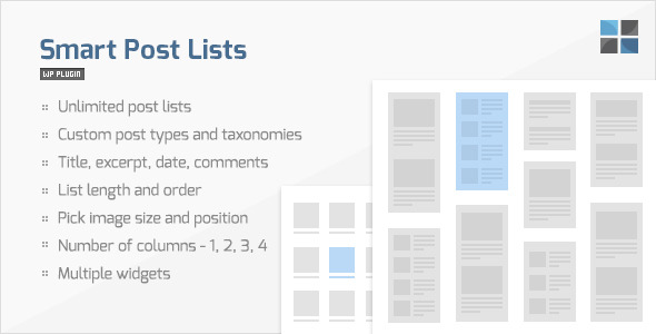 CodeCanyon Smart Post Lists Widget for WordPress 935289