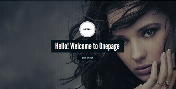 Onepage - Responsive, Clean and Photography