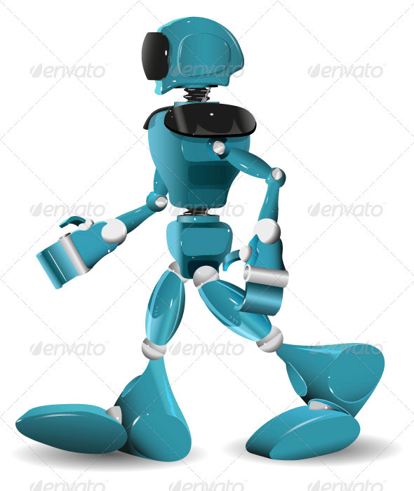 GraphicRiver Walking Robot 3567656