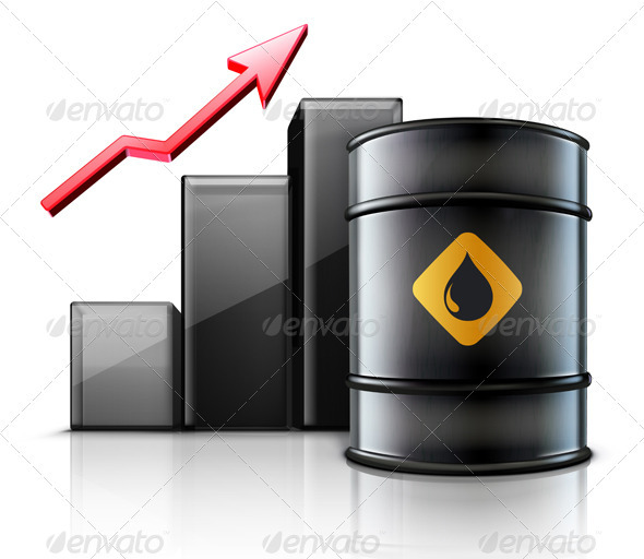 GraphicRiver Oil Price Concept 3568221