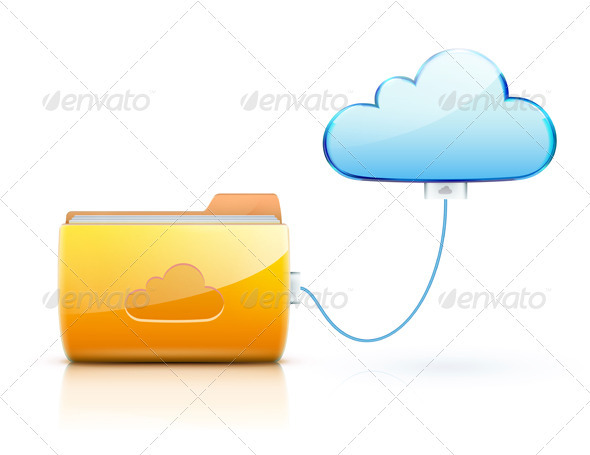 GraphicRiver Cloud Computing Concept 3568231