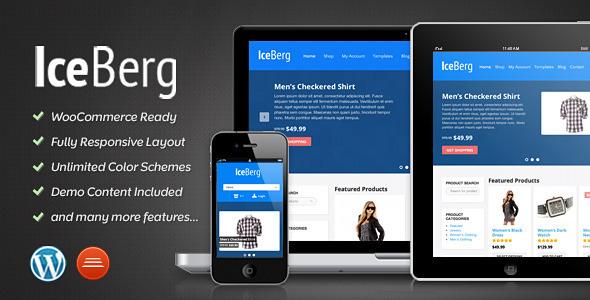 ThemeForest Iceberg eCommerce Theme WordPress WooCommerce 3568284