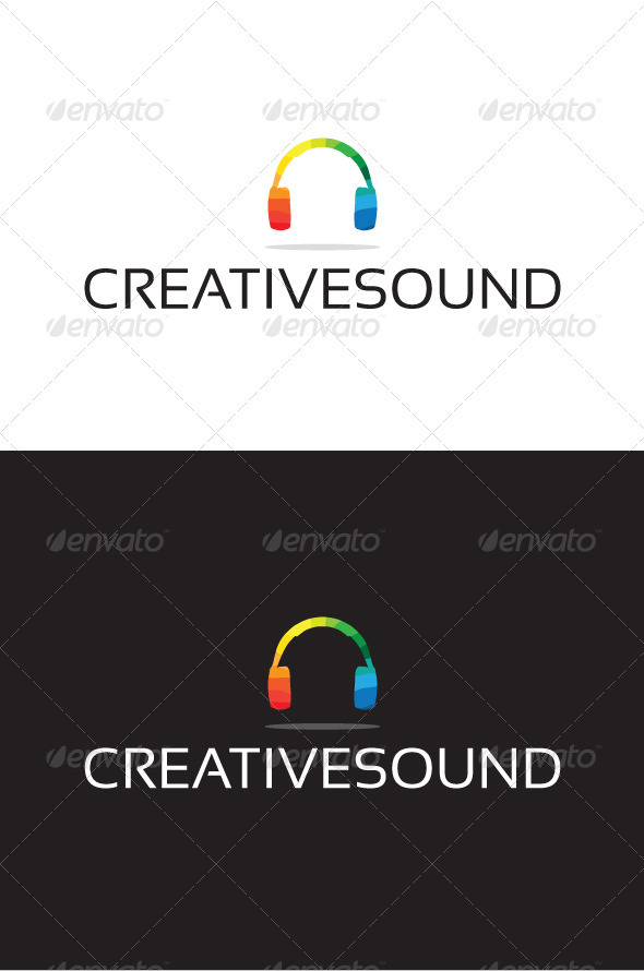 Creativesound Logo - Objects Logo Templates
