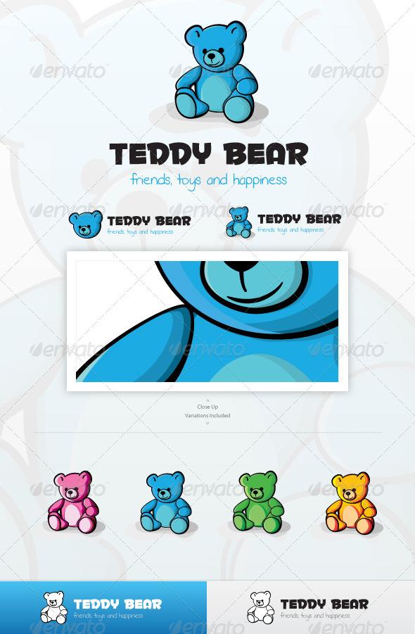 GraphicRiver Teddy Bear Logo 3568336