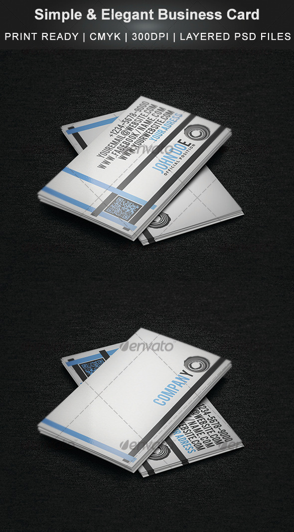 GraphicRiver Simple & Elegant Business Card 3529142