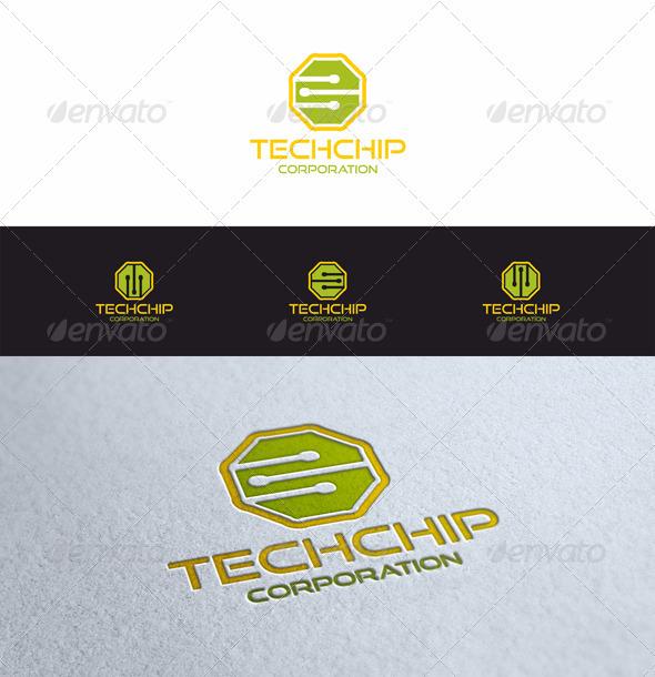GraphicRiver Tech Chip 3568978