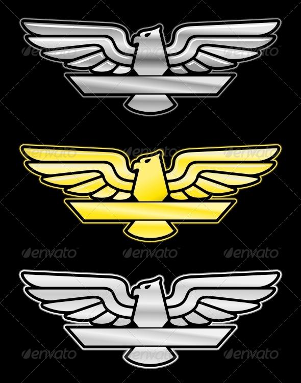 GraphicRiver Set of Eagle Emblems 3569112