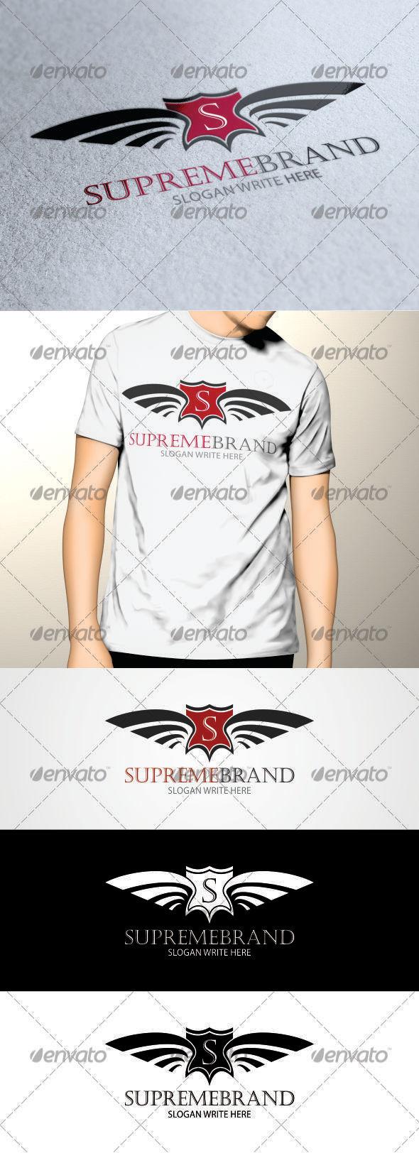 GraphicRiver Supreme Brand Logo 3571150
