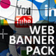 Socialidea: Social Media Web Banners Pack - GraphicRiver Item for Sale