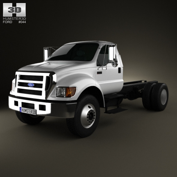 3DOcean Ford F-650 F-750 Regular Cab Chassis 2012 3571560