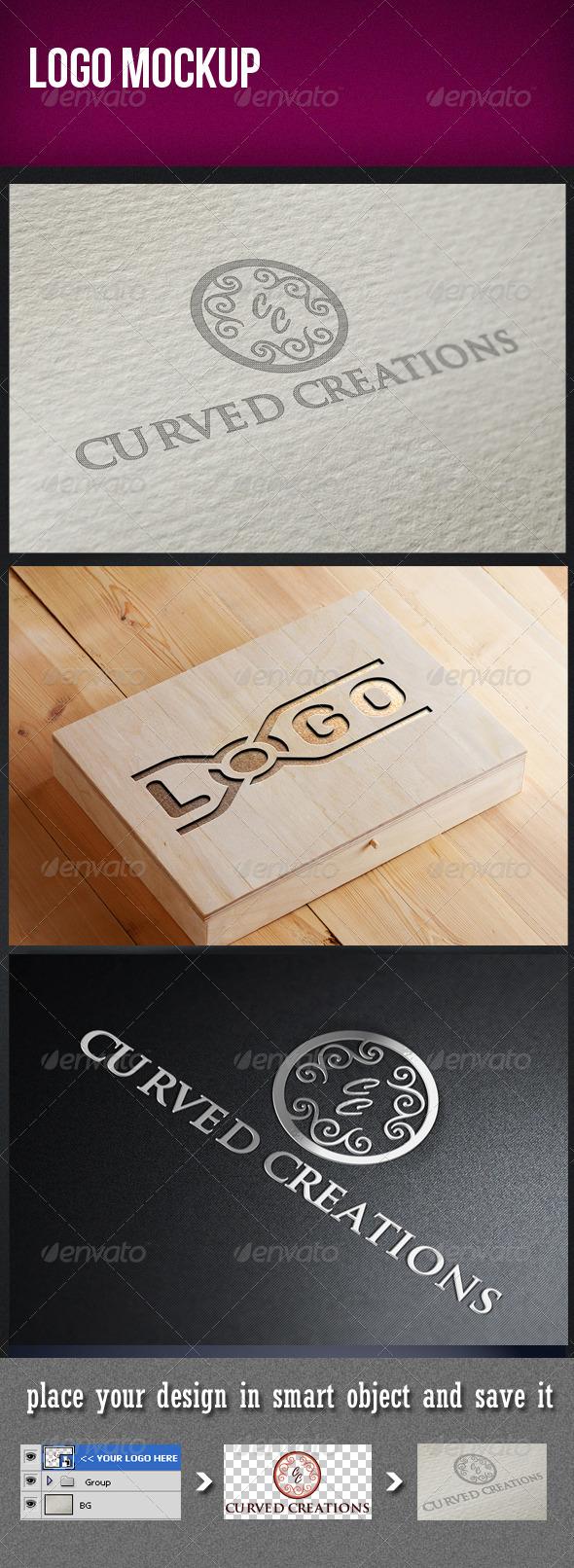 GraphicRiver Logo Mockup 3291878
