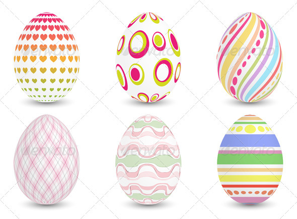 GraphicRiver Easter Eggs 3571651