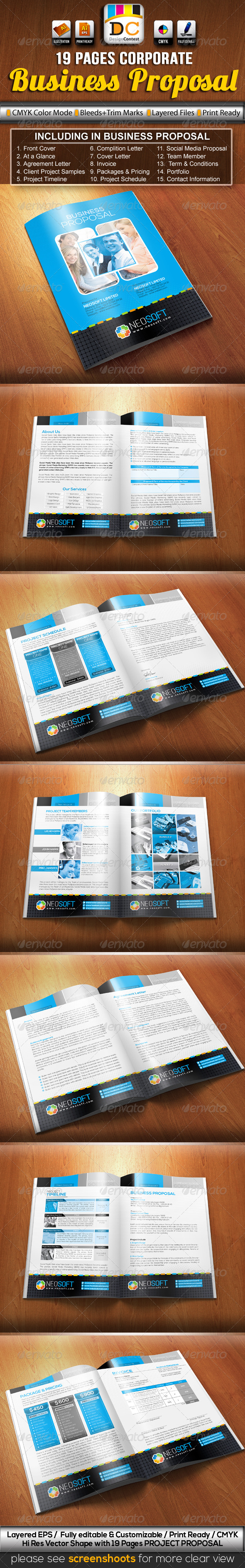 GraphicRiver NeoSoft Business Project Proposal 3571740
