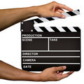 Film Clapper in Hands - PhotoDune Item for Sale