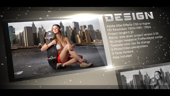 VideoHive Light Presentation 3552628