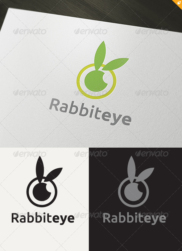 GraphicRiver Rabbit Eye Logo 3572904
