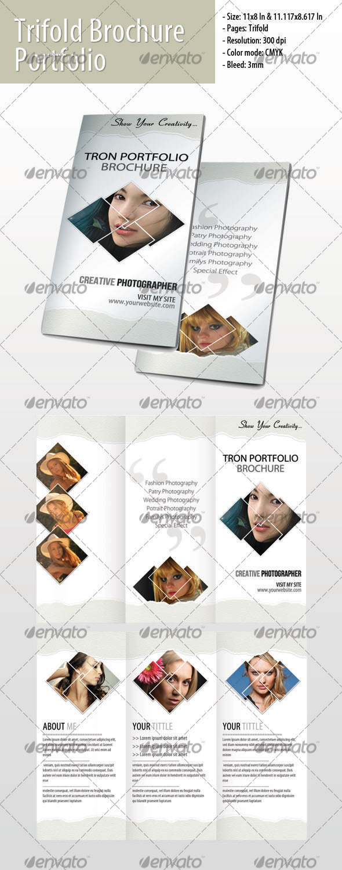 GraphicRiver Trifold Portfolio Brochure #1 3572959