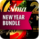 New Year Party Flyers Bundle - GraphicRiver Item for Sale