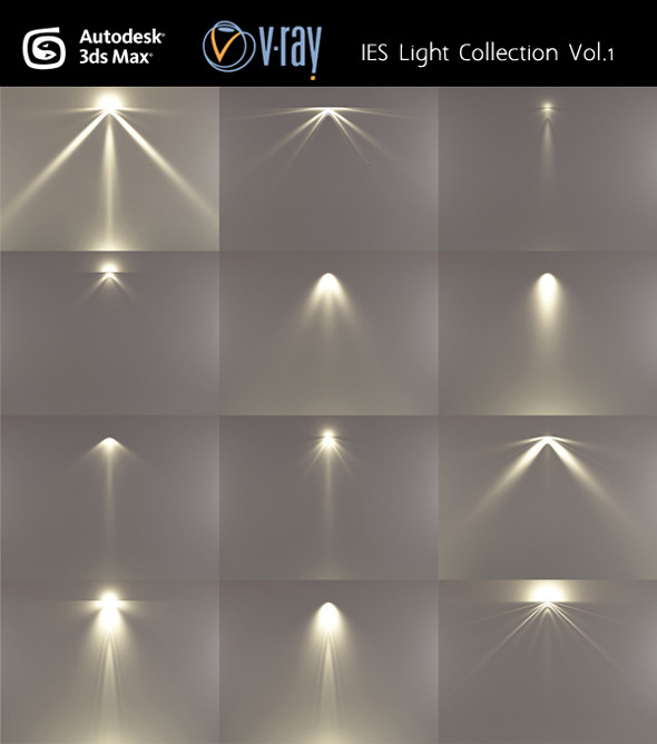 IES Light Collection Vol.1 - 3DOcean Item for Sale