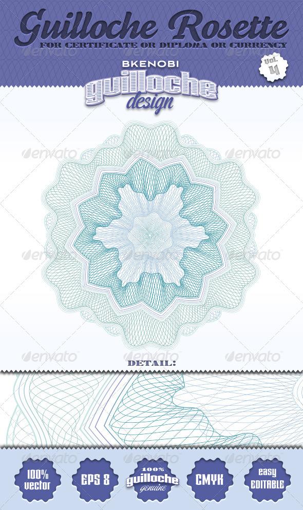 GraphicRiver Guilloche Rosette Vol.4 3573719