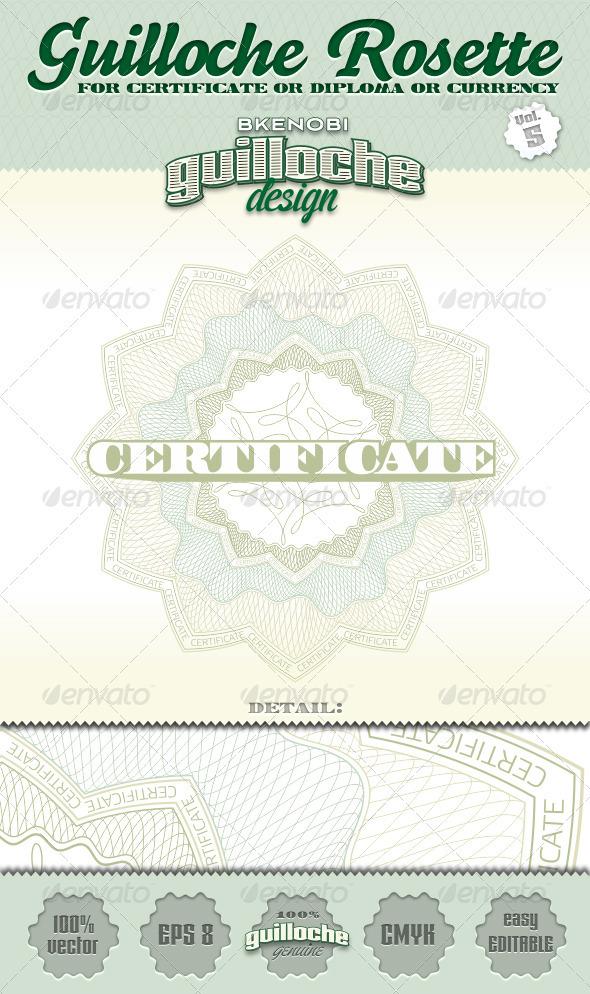 GraphicRiver Guilloche Rosette Vol.5 3573784