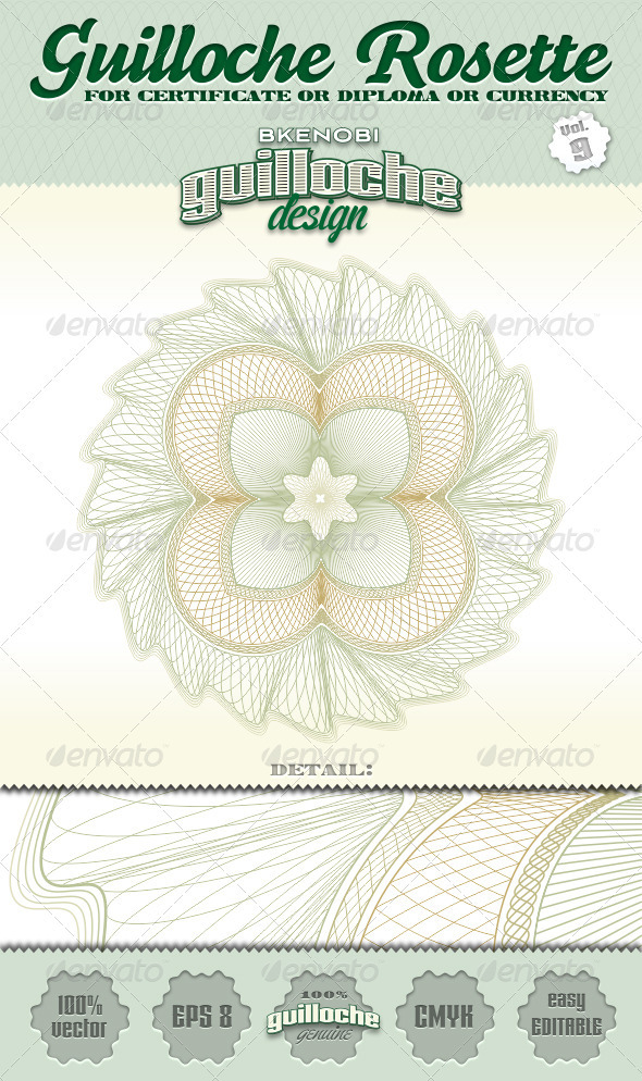 GraphicRiver Guilloche Rosette Vol.9 3573875