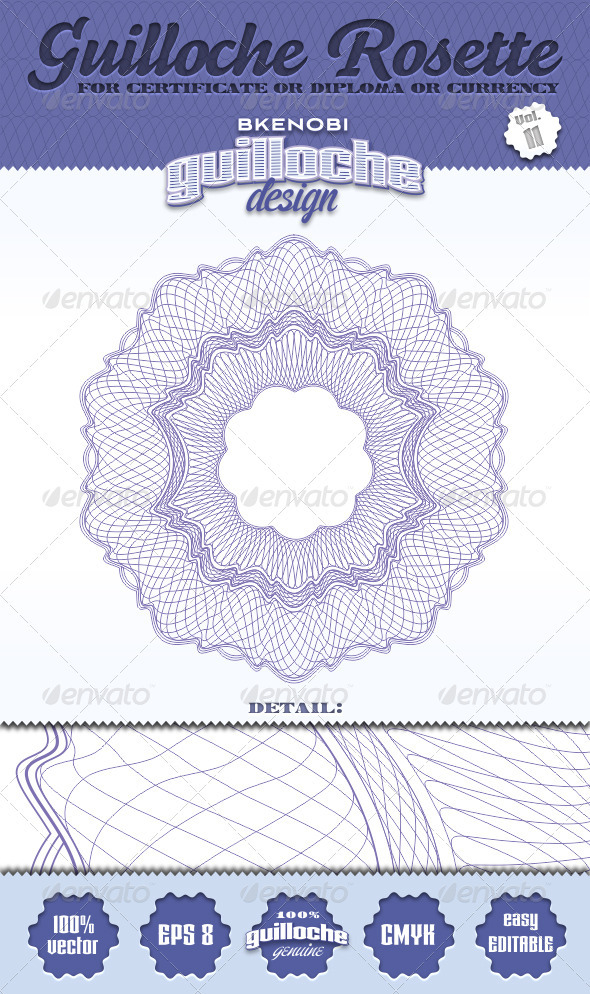 GraphicRiver Guilloche Rosette Vol.11 3573922
