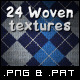 24 Tileable Woven & Knitted Textures - GraphicRiver Item for Sale