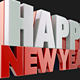 Happy New Year 3D Render - GraphicRiver Item for Sale