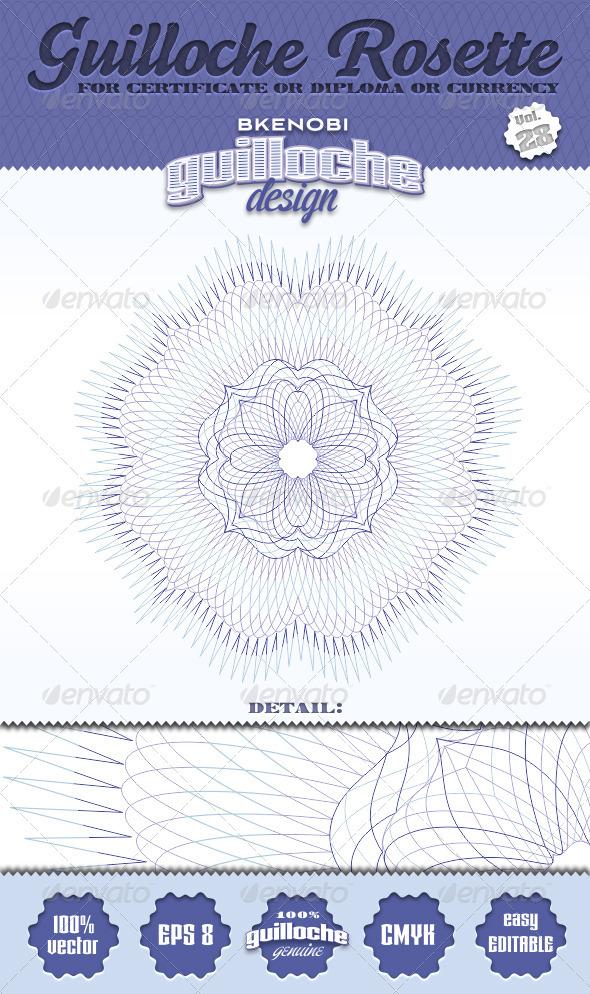 GraphicRiver Guilloche Rosette Vol.28 3574184
