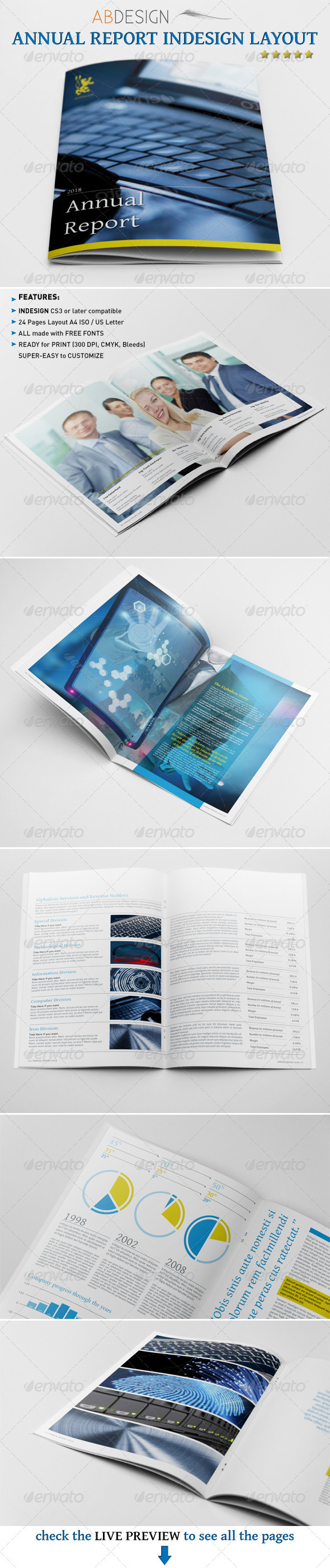 GraphicRiver Annual Report Indesign Layout 2879409