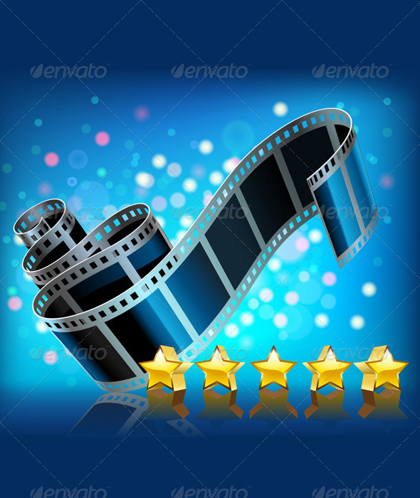 GraphicRiver Filmstrip and Stars Set 2259806
