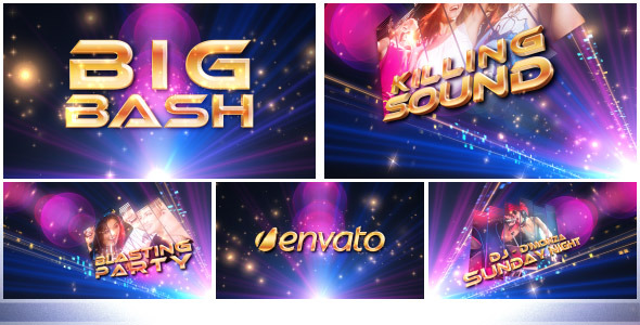VideoHive Party Glitters 3574616