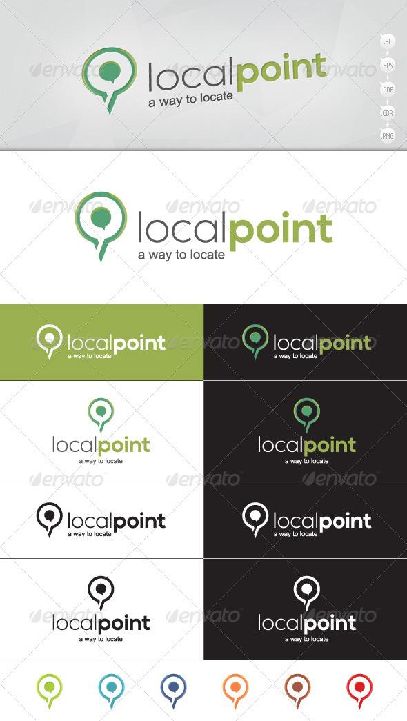 GraphicRiver Localpoint Location Logo 3574887
