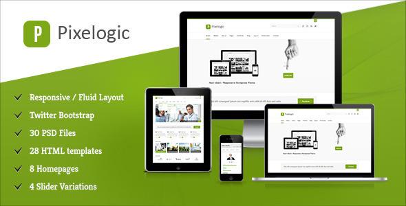 Pixelogic - Responsive Multipurpose HTML Template