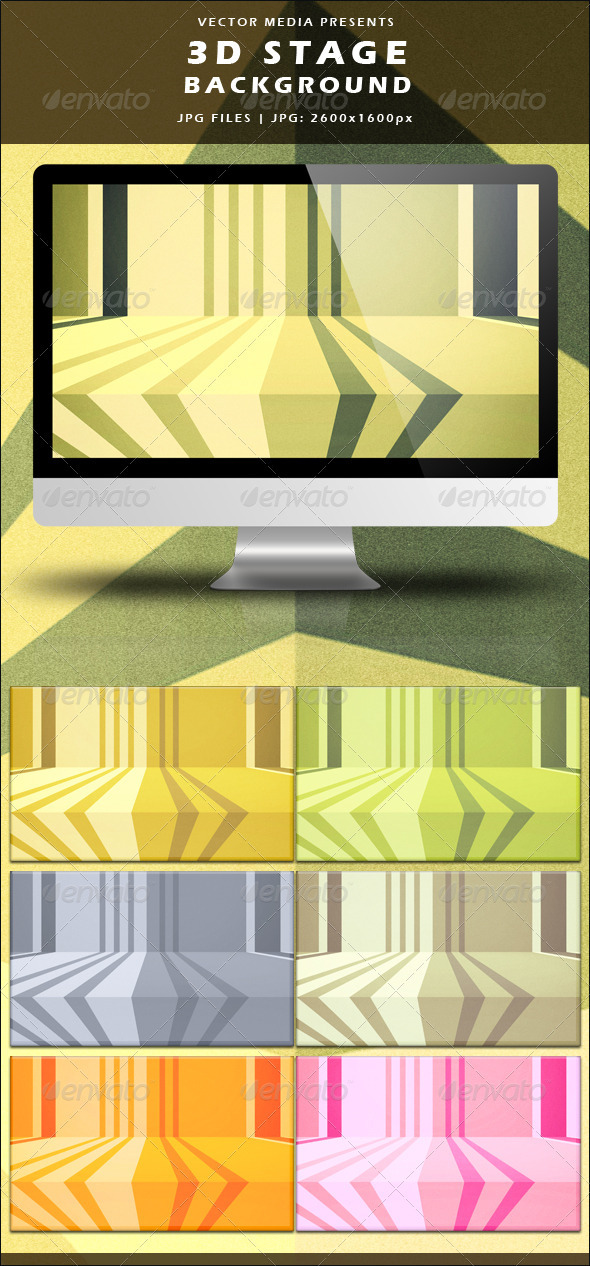 GraphicRiver 3D Stage Background 3575229