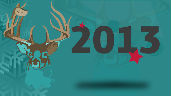 VideoHive Christmas Shapes 3542635