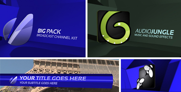 VideoHive Big Pack Broadcast Kit 3576190