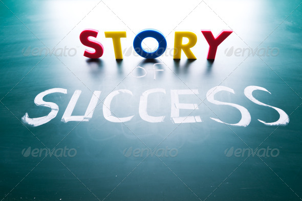 Story of success concept - Stock Photo - Images