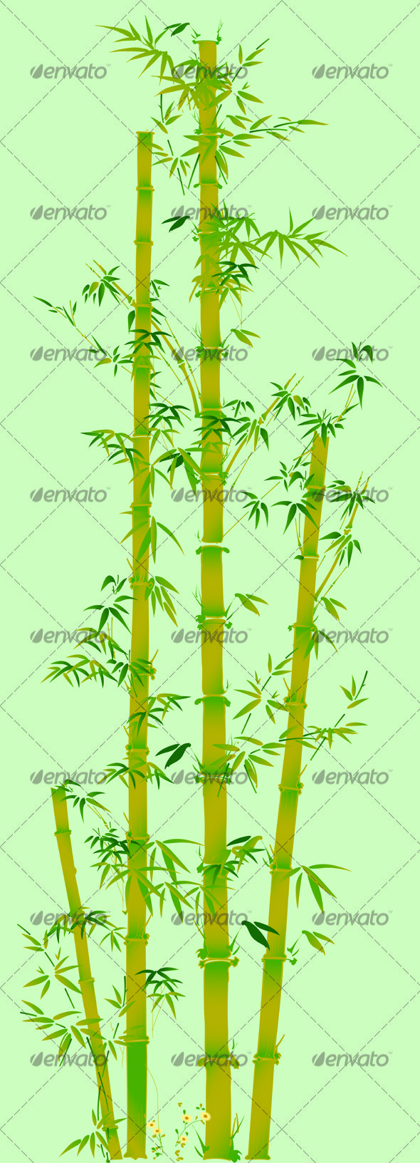 GraphicRiver Green Bamboo 3578259