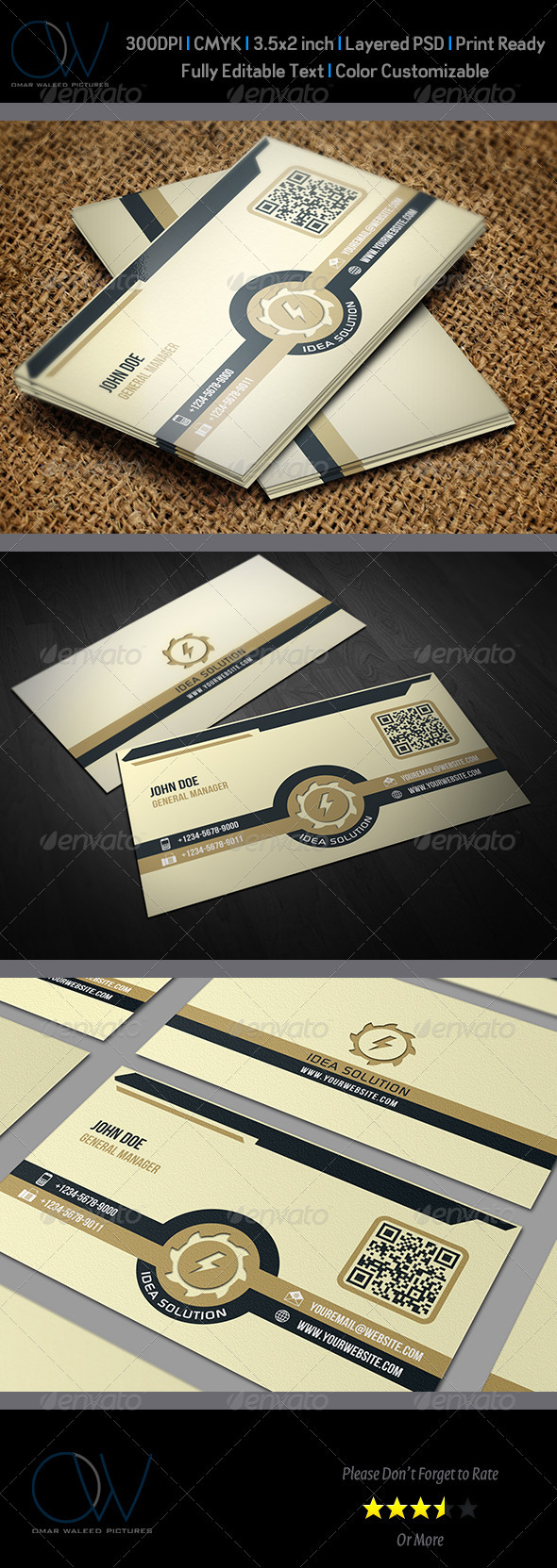 GraphicRiver Corporate Business Card Vol.11 3578502