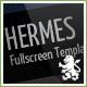 Hermes - Fullscreen Premium Template - ThemeForest Item for Sale