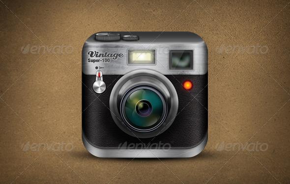 GraphicRiver Vintage Camera 3578888