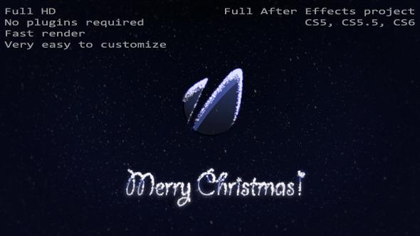 VideoHive Snow Logo 3578999