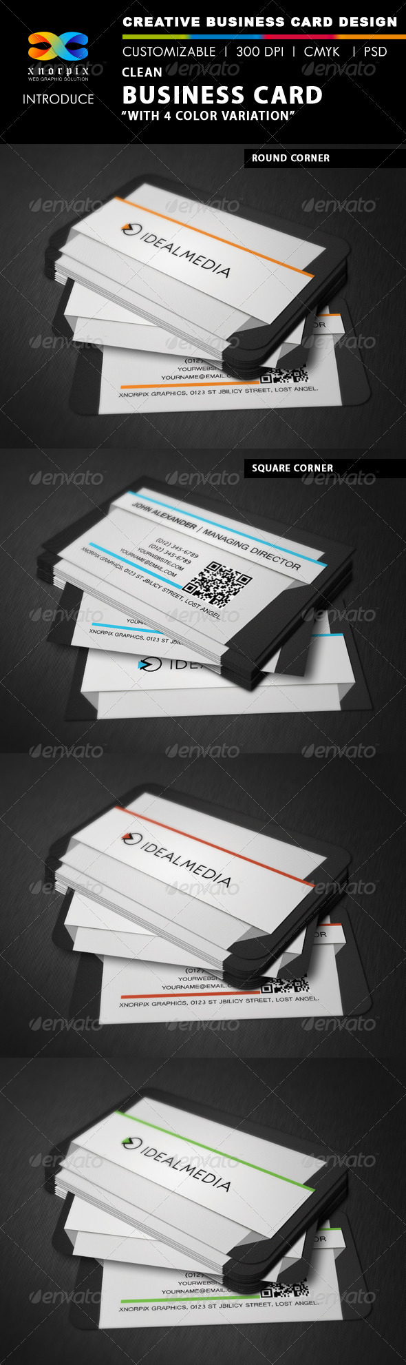 GraphicRiver Clean Business Card 3579219