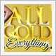 All Gold Everything Party Flyer - GraphicRiver Item for Sale