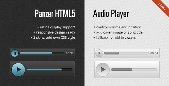 CodeCanyon Panzer HTML5 Audio Player 2859079